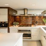 Modern geniş mutfak