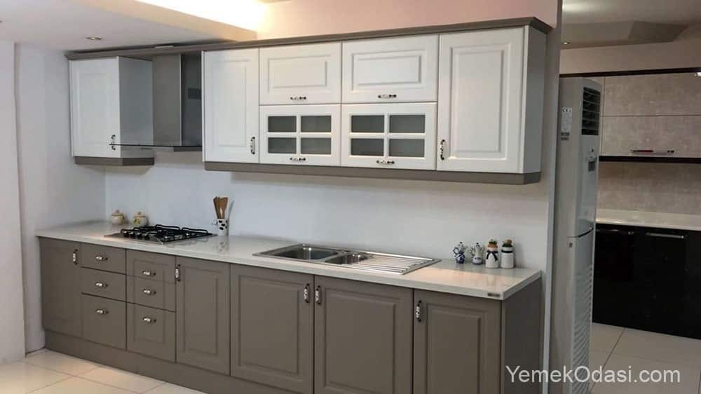 açık mutfak dolabı