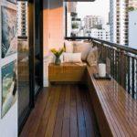 ahsap vintage balkon