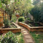 Bahçe Doğal Dekorasyon