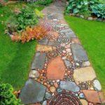 Bahçe Doğal Taş Yürüme Yolu