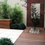 Bahçe Modern Doğal Saksı