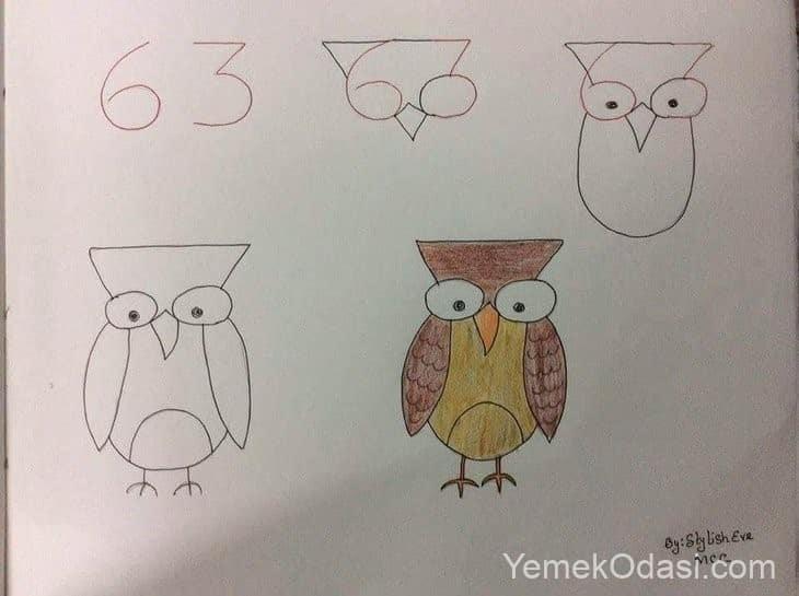 sayılarla kuş