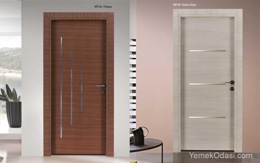 camsız kapı modelleri