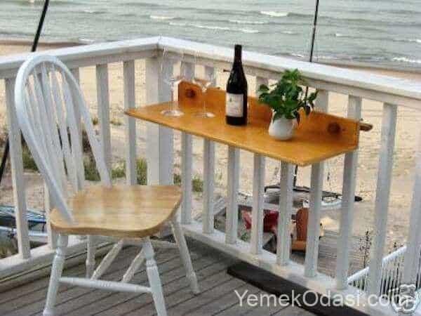 balkon masa sandalye modelleri