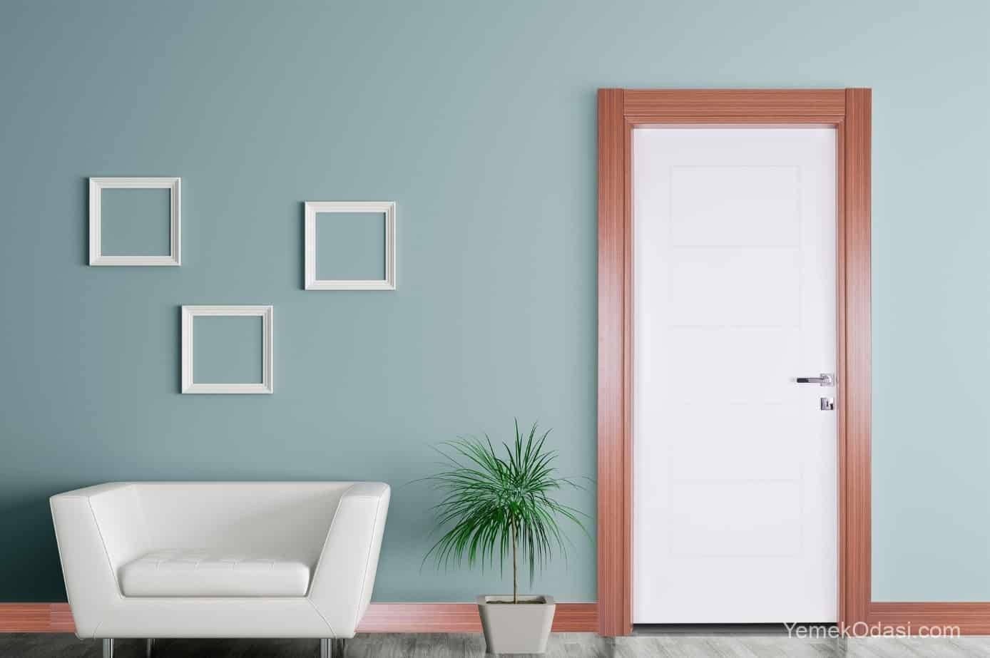 sade kapı modelleri