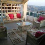 geniş balkon tasarımı