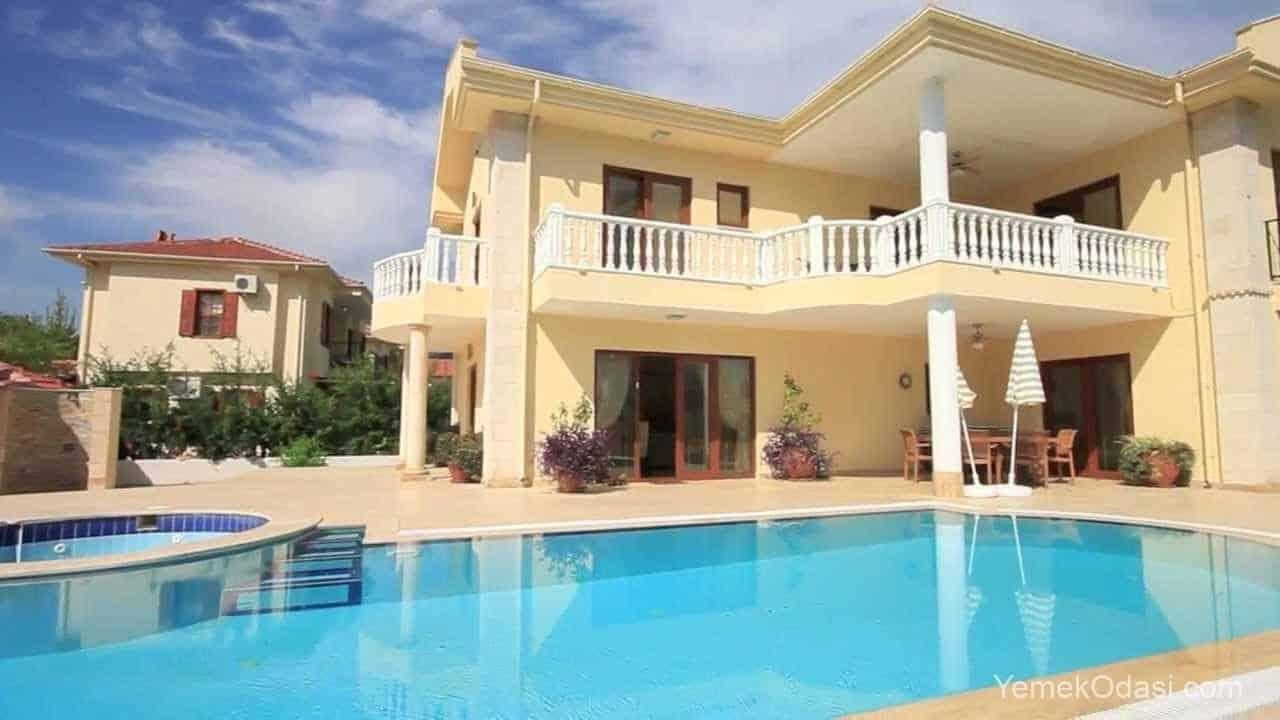 modern havuzlu evler