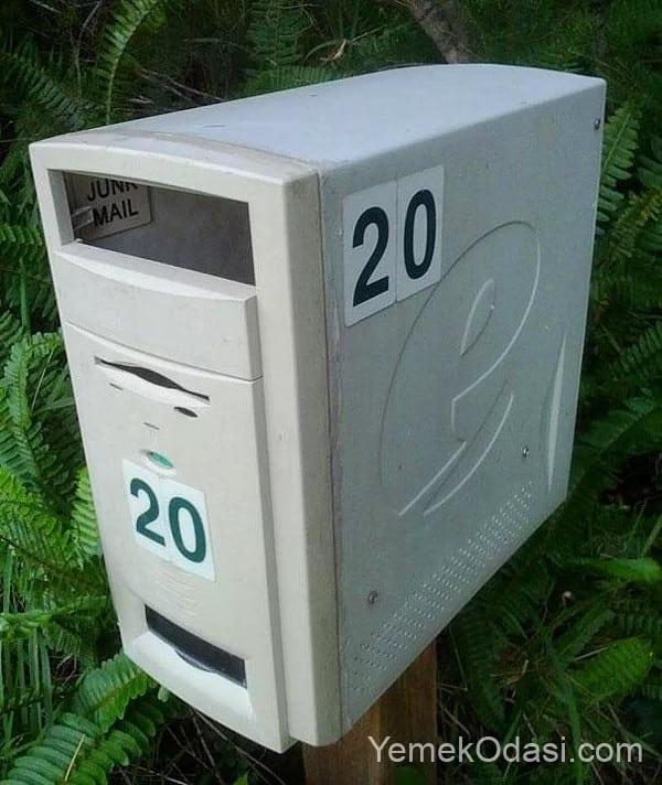 kasadan posta kutusu