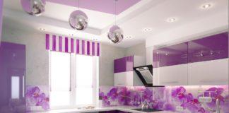 lila rengi mutfak