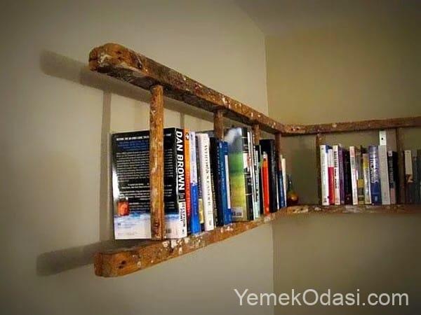 merdivenden kitaplık