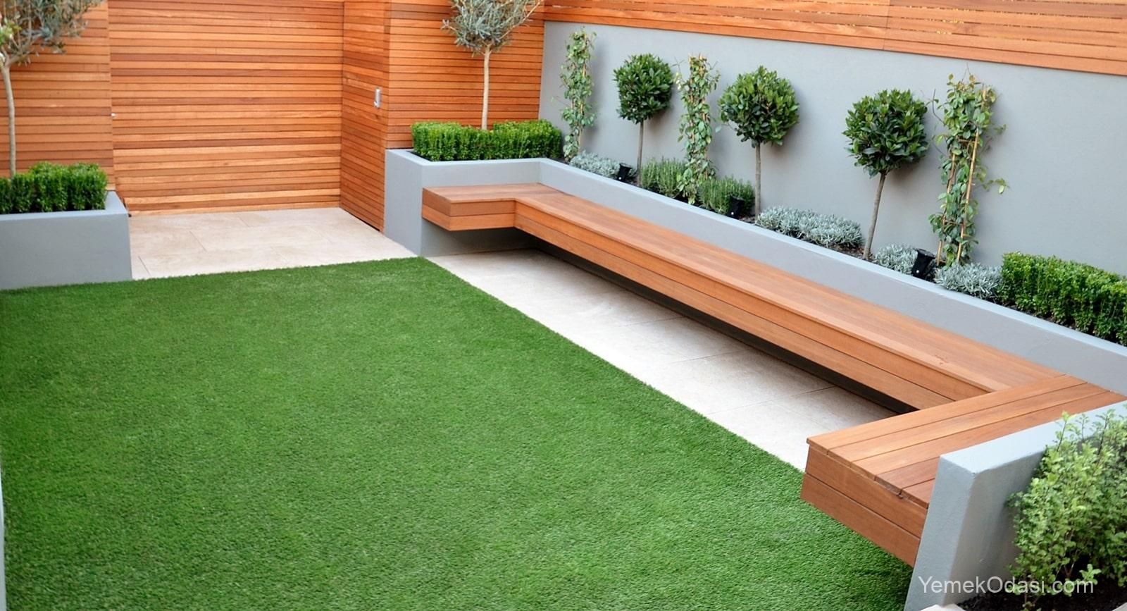 Modern bahçe oturma takımı