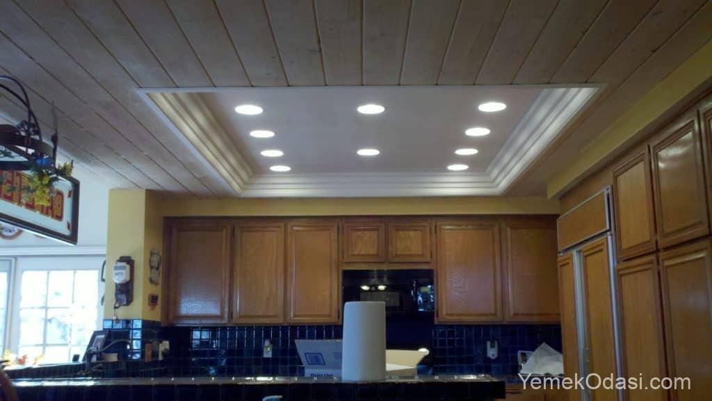 Mutfak asma tavan spot aydınlatma