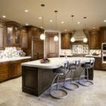 Orta masalı mutfak aydınlatma