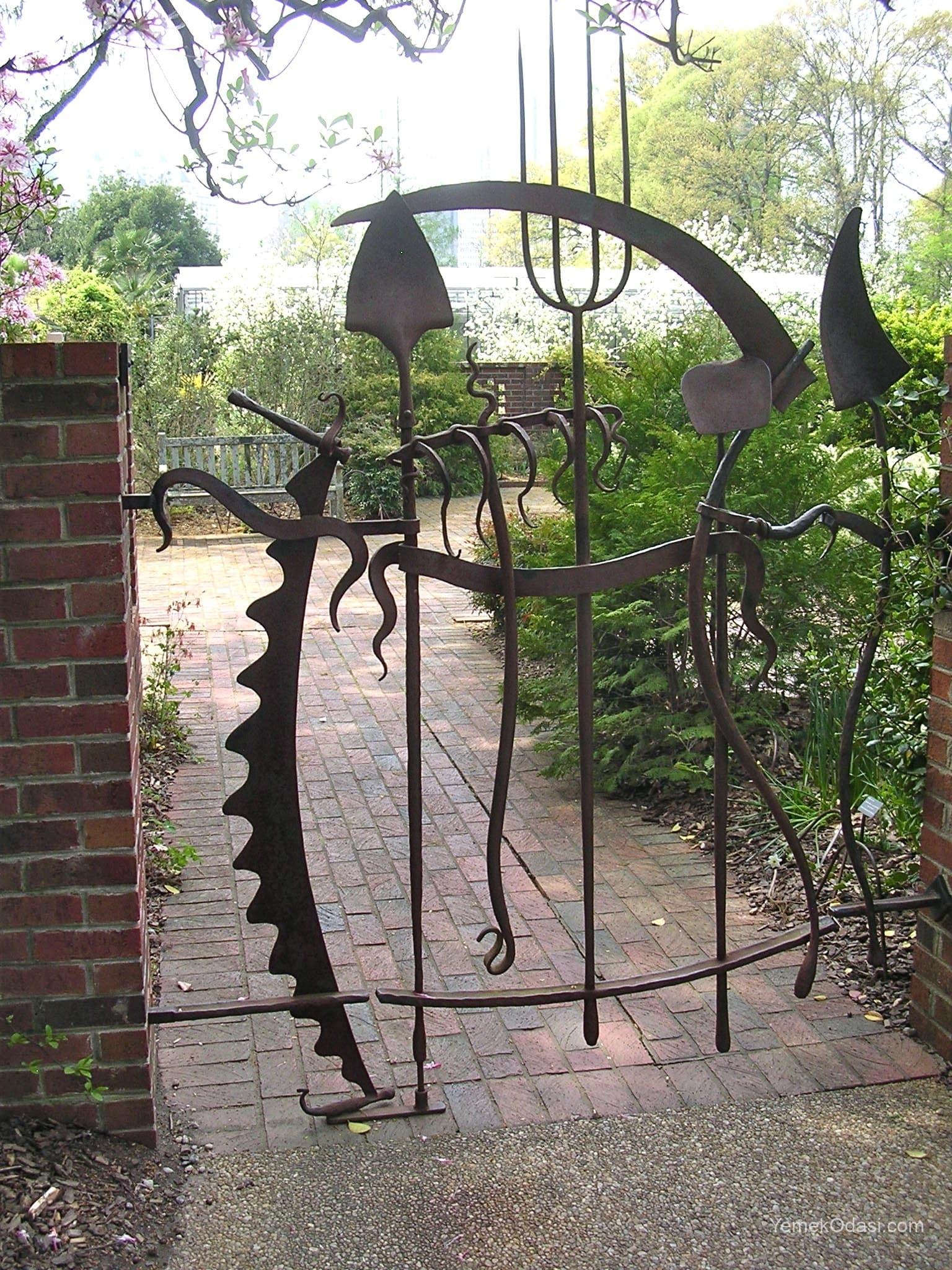 Rustik bahçe kapısı