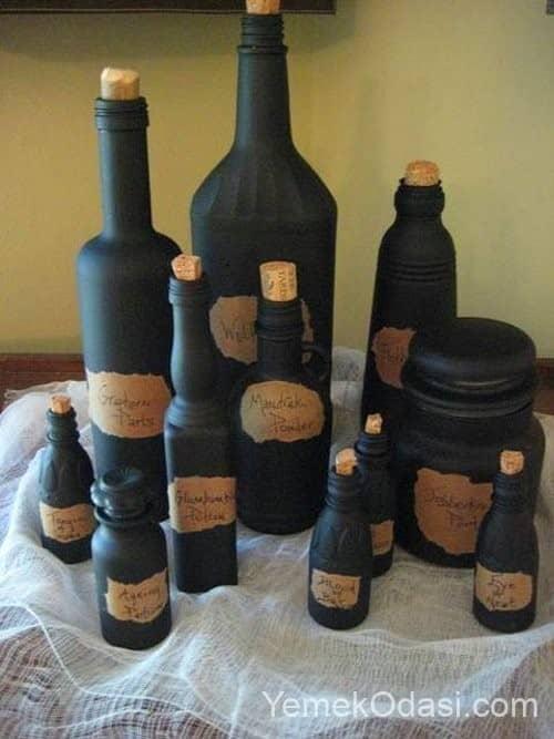 şişelerden tuzluk