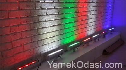 wallwasher duvar aydınlatma
