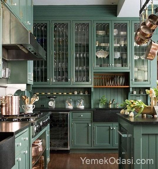 yeşil country mutfak