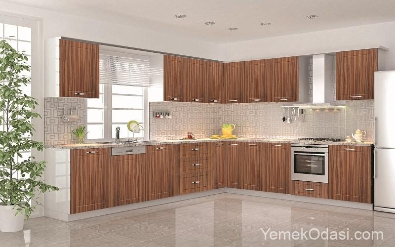 Akrilik Mutfak Dolabı Modelleri