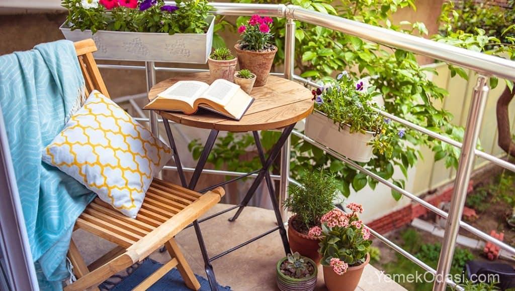 Balkon Dekorasyonu Renkleri