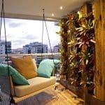 Canlı Balkon Dekorasyonu