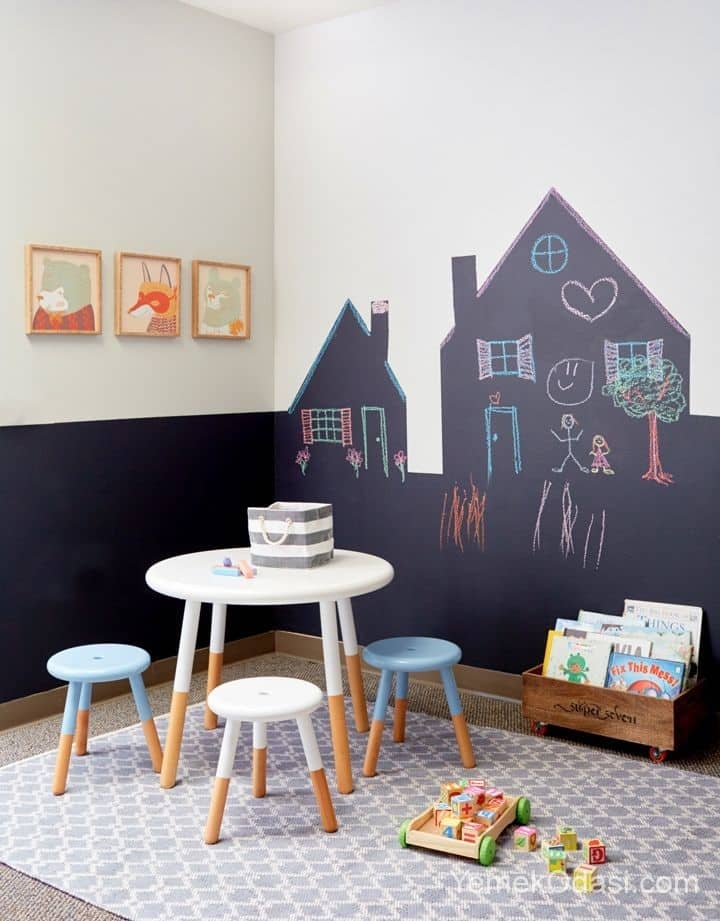 çocuklar için kara tahta