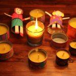 dekoratif salon mum ve mumluklari