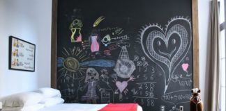 eğlenceli kara tahta