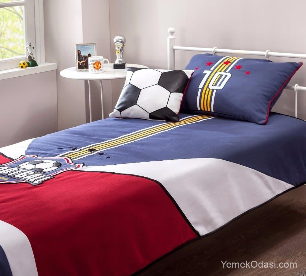 Genç Odası Yatak Örtüsü Modelleri