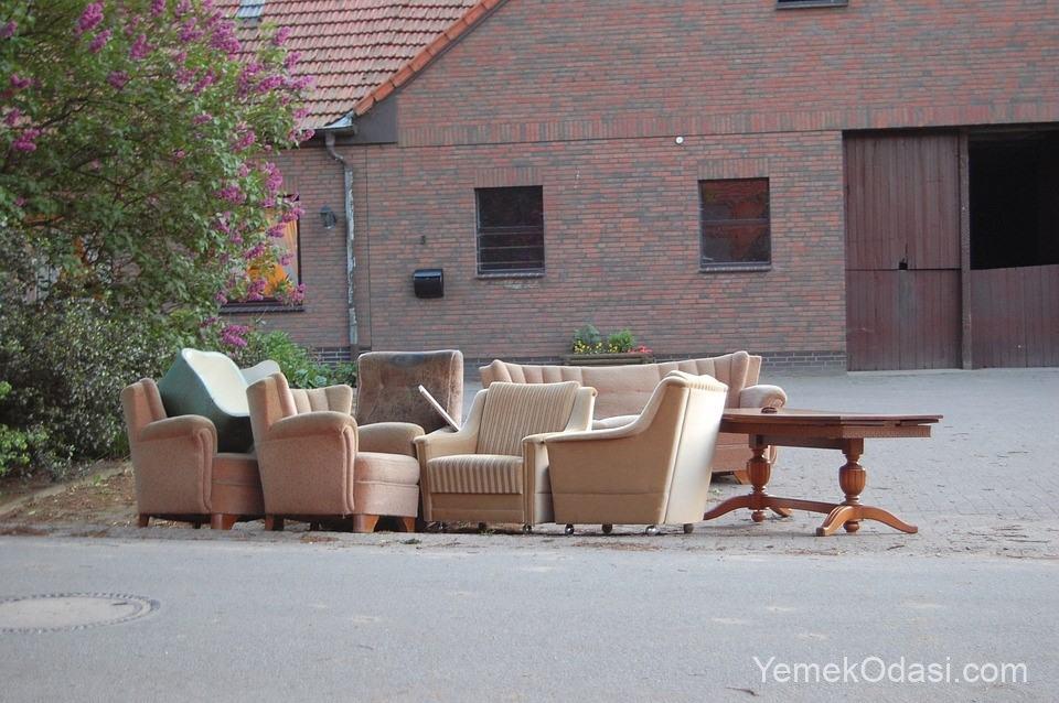 hantal mobilyalardan kurtulun