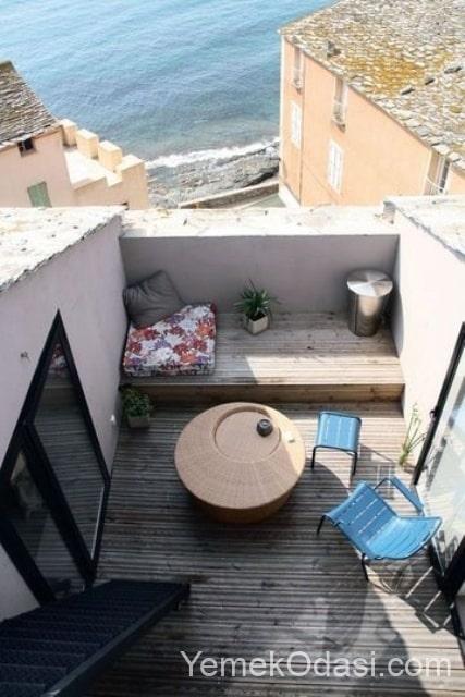 dar ve küçük teras