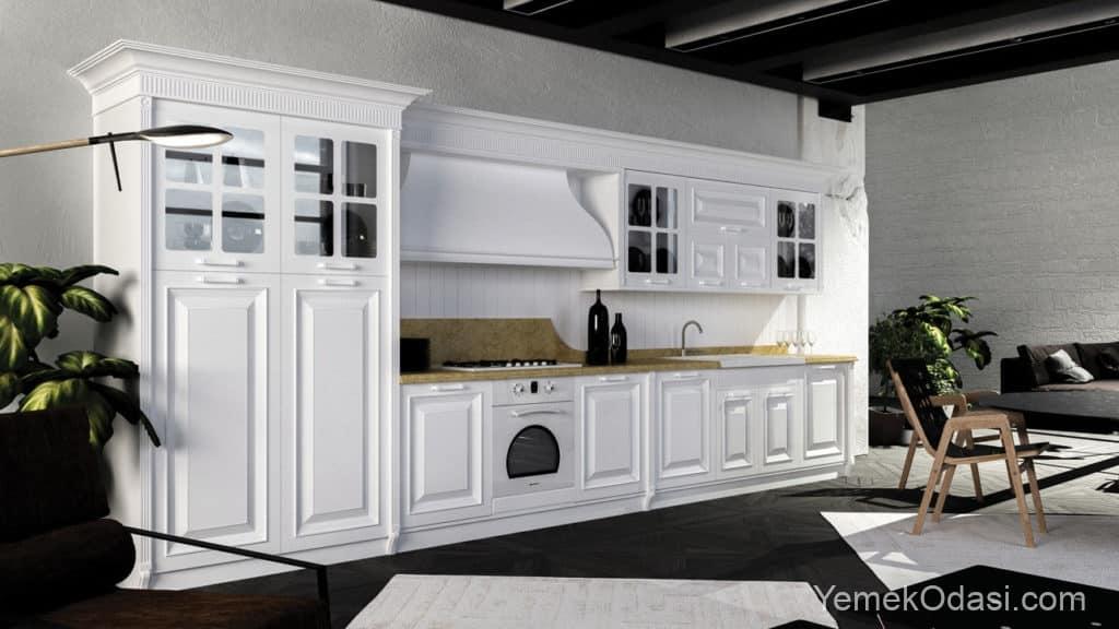 Klasik Mutfak Dolabı Modelleri