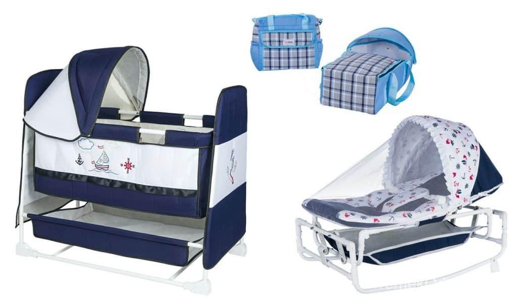 Mavi Bebek Beşiği Modelleri