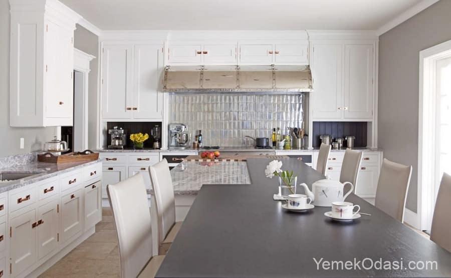 Mutfak Dolabı Modelleri ve Renkleri