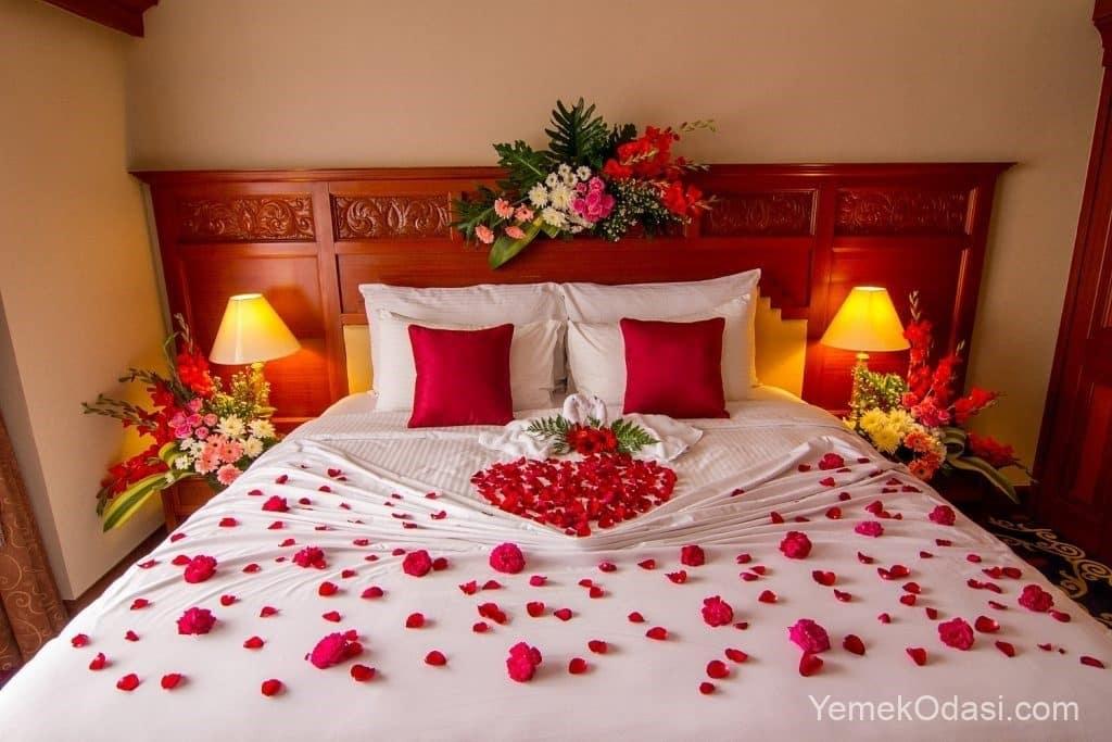 özel yatak süsleme
