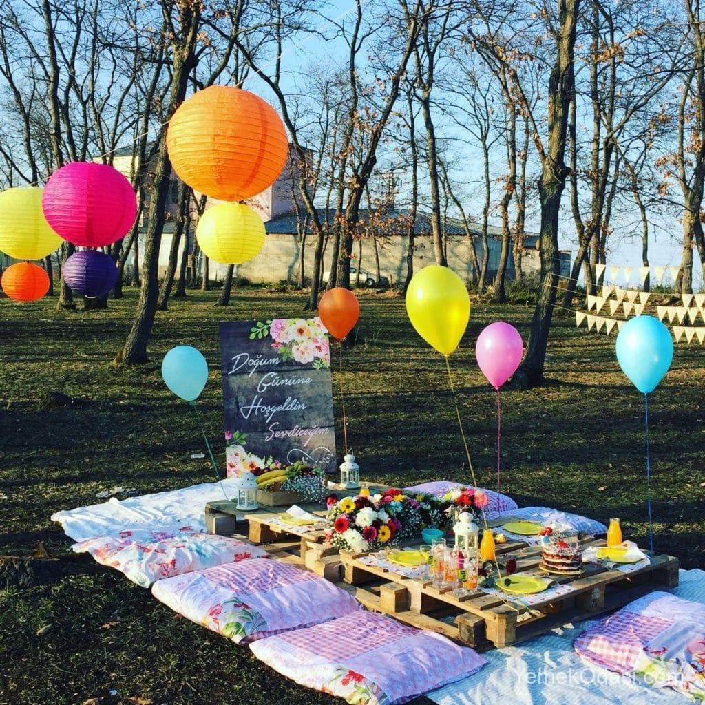 piknik tipi süsleme