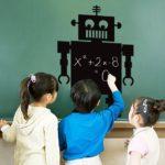 robot kara tahta
