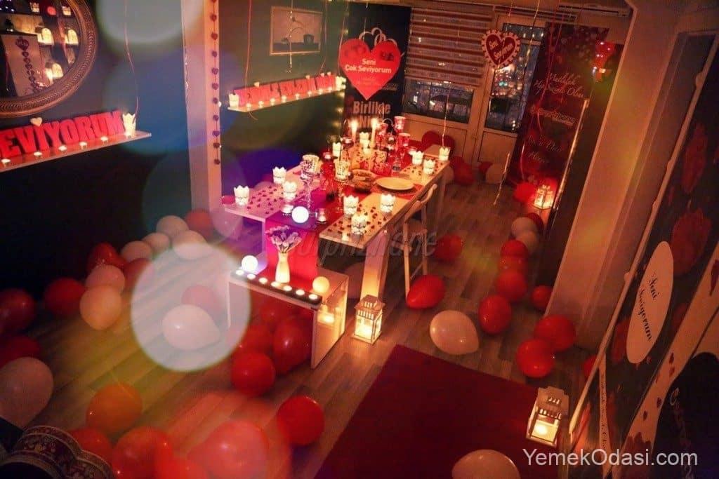 romantik oda süsleme