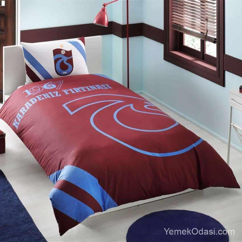 Trabzonspor Yatak Örtüsü Modelleri