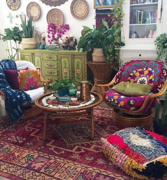 dekoratif objeler ve bohem dekorasyon