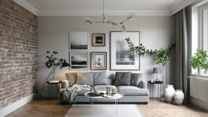 iç mimarların tavsiyelerini örnek gösteren bir dekorasyon